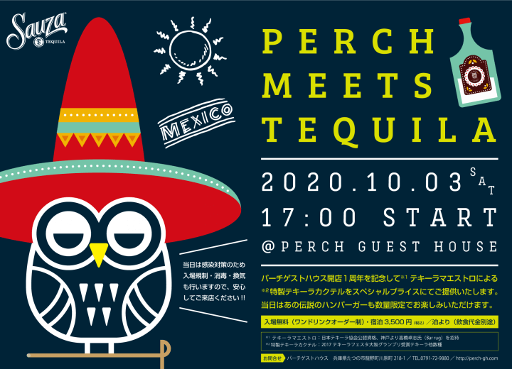 PERCH MEETS TEQUILA